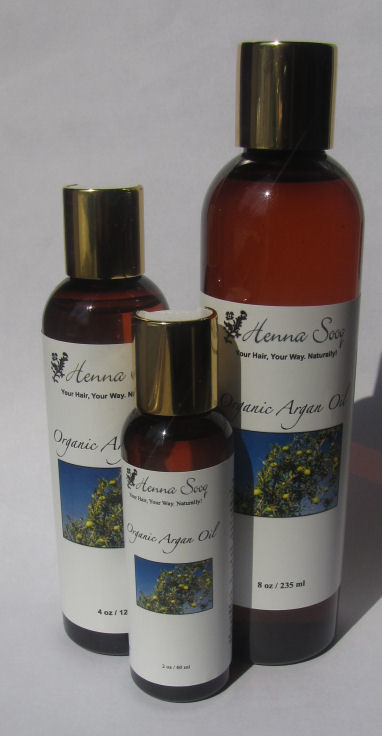 Organic Argan Oil sizes sm