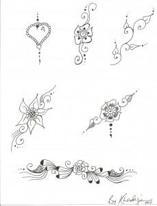 Free Body Art Henna Designs