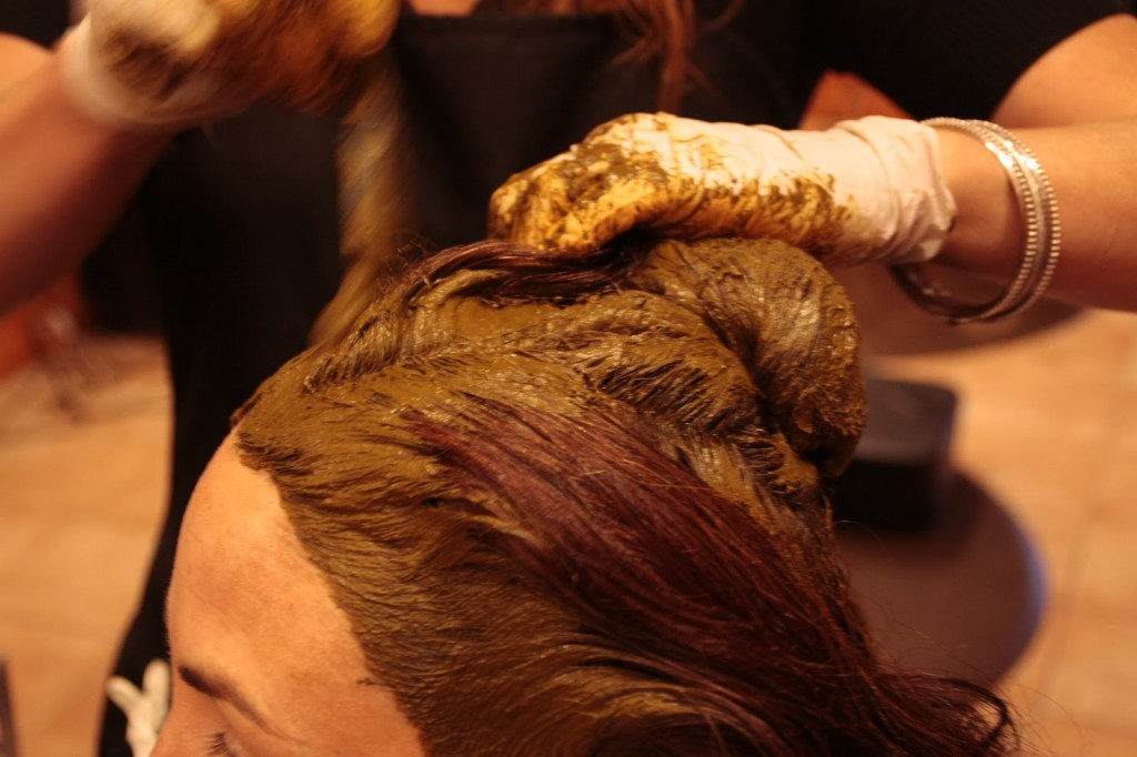rinsing henna hair treatments