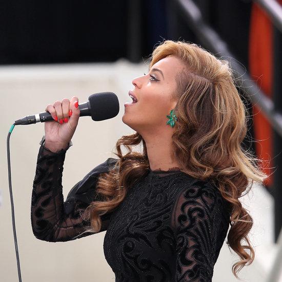 Beyonce's Hot Orange Nails by Lisa Logan