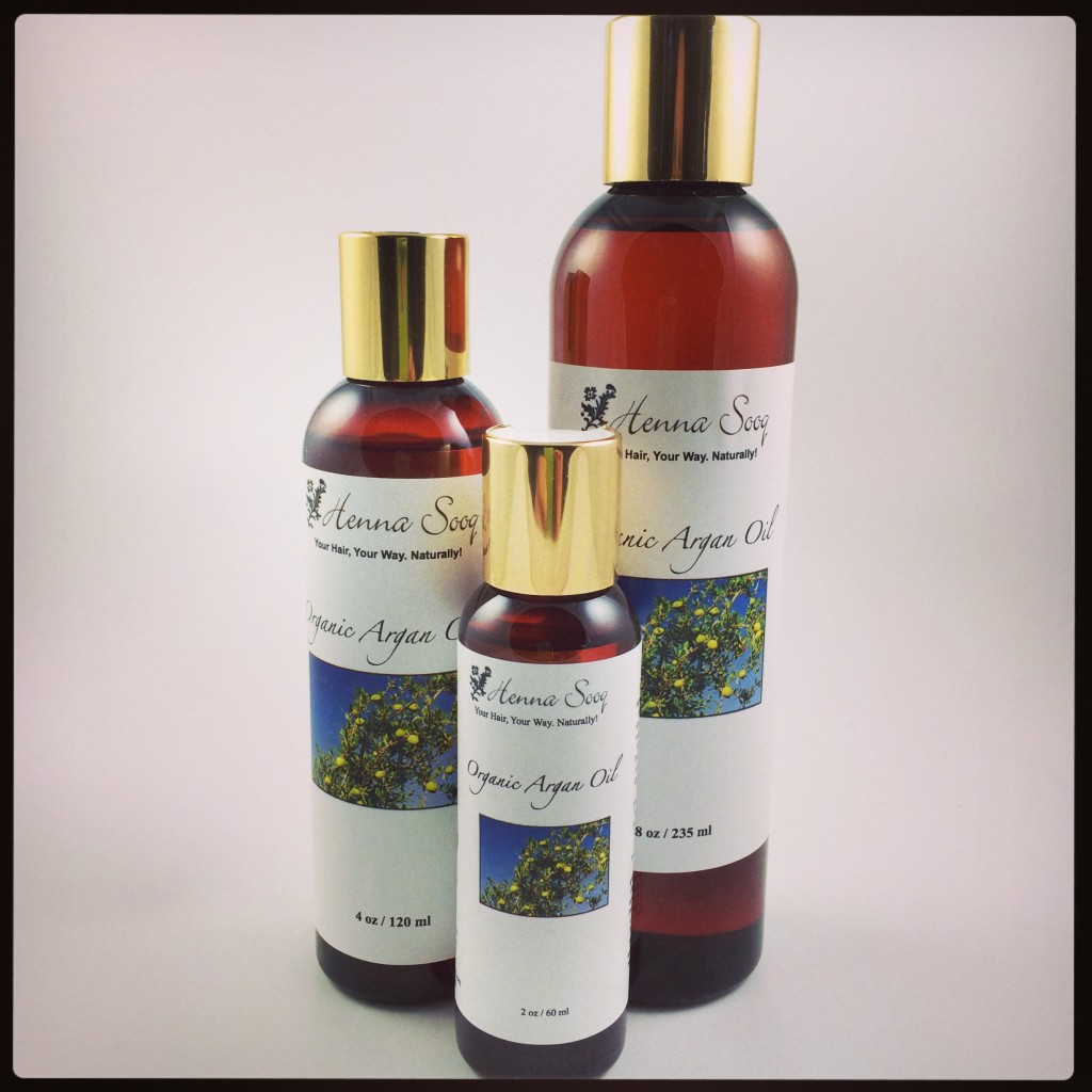 Argan oil 2014 3 sizes