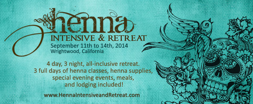 Announcing the Henna Intensive & Retreat