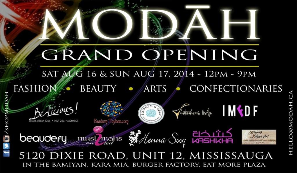 Grand Opening Henna Sooq Canada