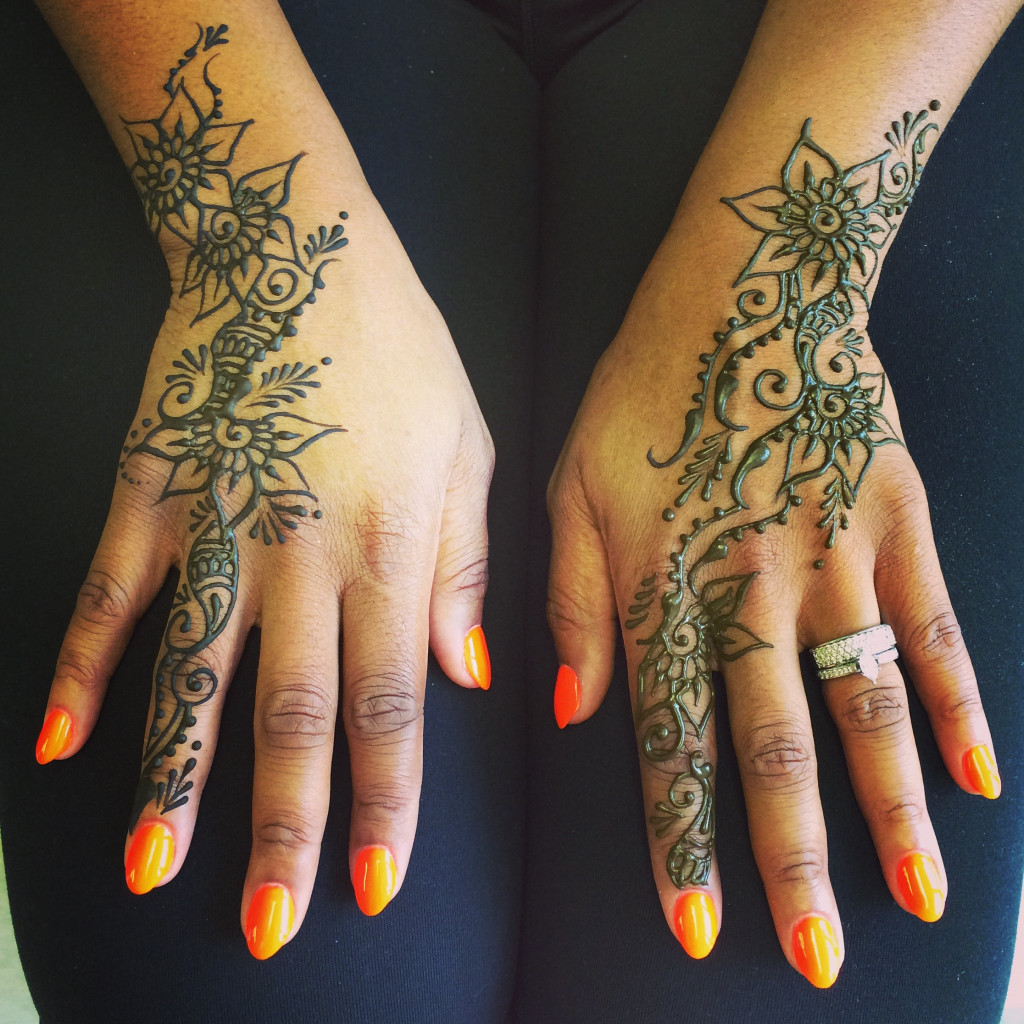 our clients at the new studio henna spot