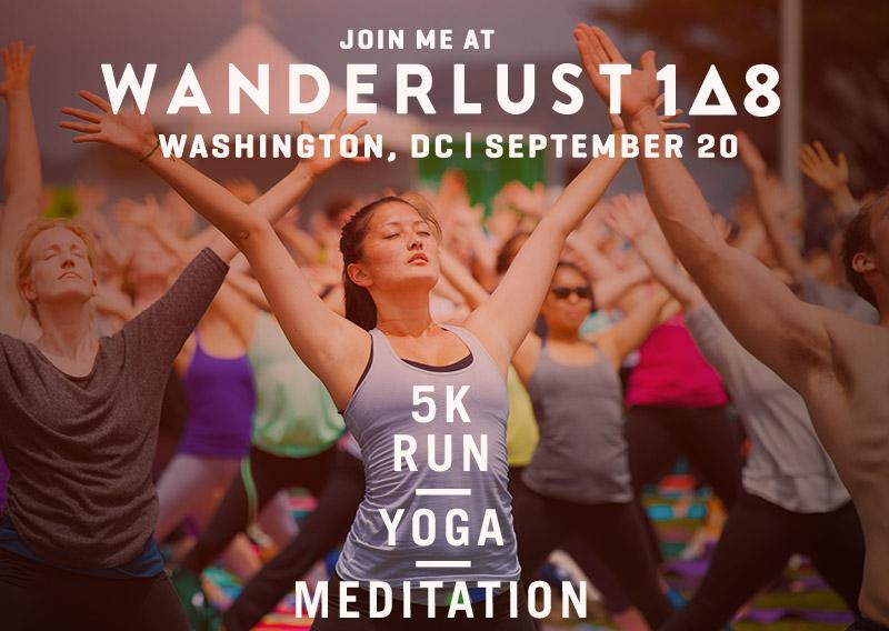 Wanderlust DC Yoga Festival with Henna Sooq
