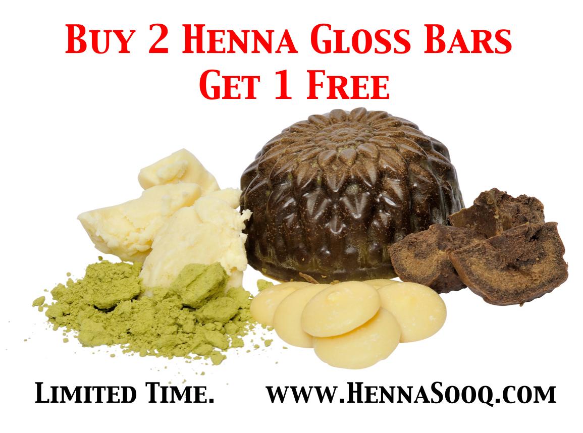 hennsooq raw ingredients red raj rajasthani cocoa butter shea organic henna gloss bar sooq conditioner conditioning - Henn Color