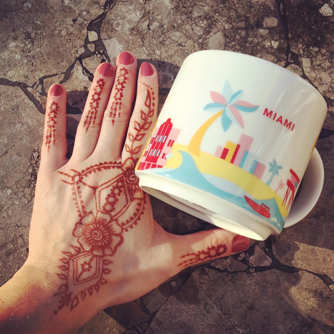 Henna Tattoo Miami : Our trip to miami henna spot
