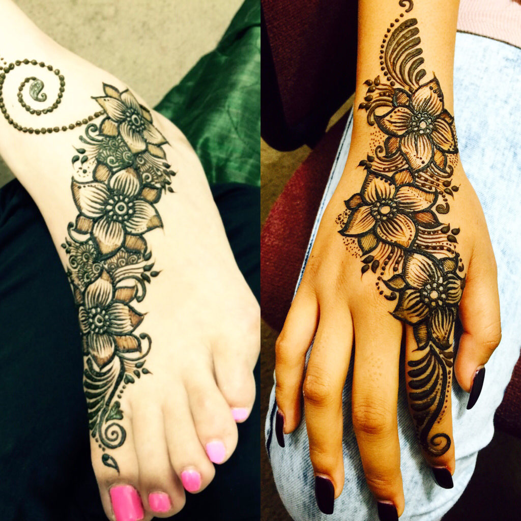 indian motifs peacocks and bridal henna with maaz may 14