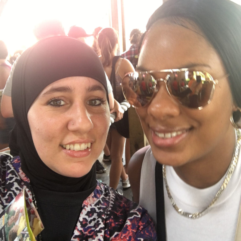 Me Khadija sister Gail Carryl hennasooq Montreal La Ronde Canada
