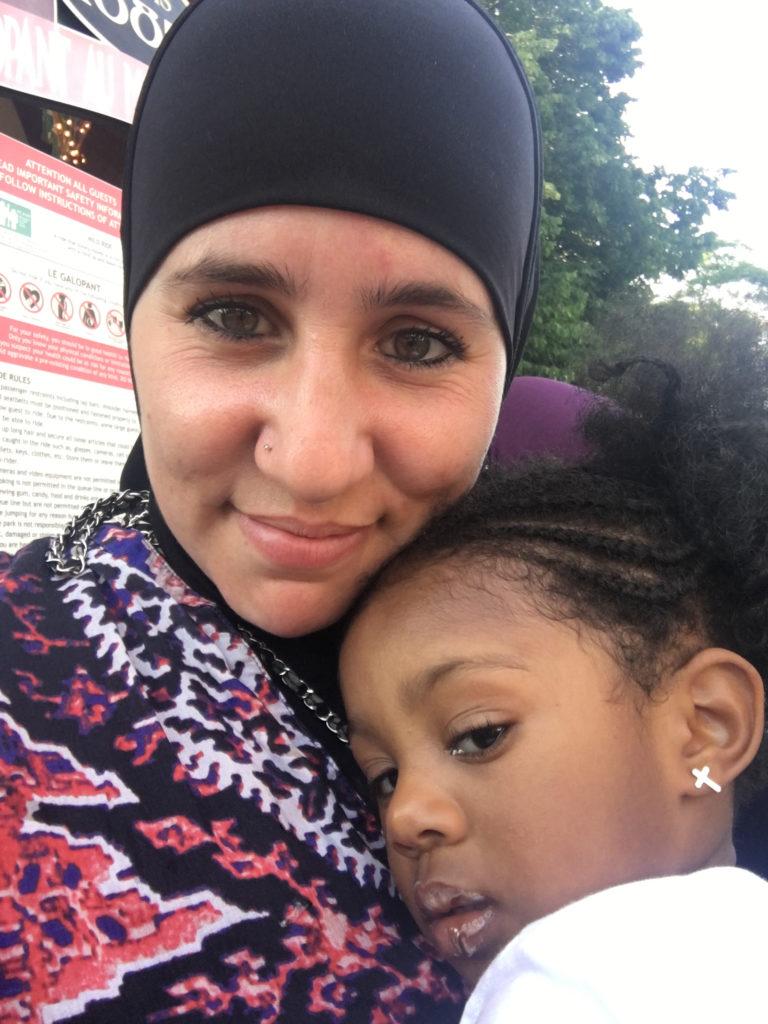 niece Khadija Dawn Carryl Montreal La Ronde canada