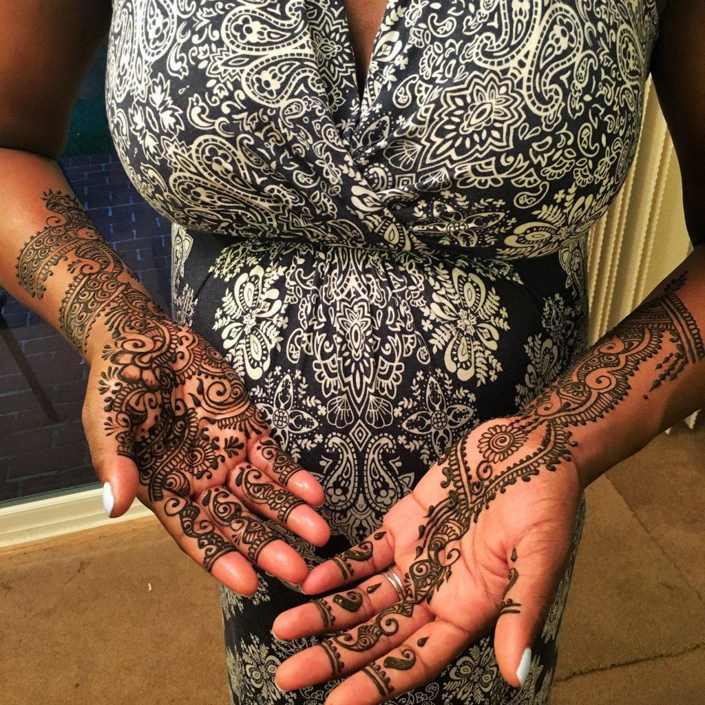 palms bridal bangledesh hand mandala piece hennasooq maryland dc dmv columbia lanham brandywine laurel tattoo henna pregnant