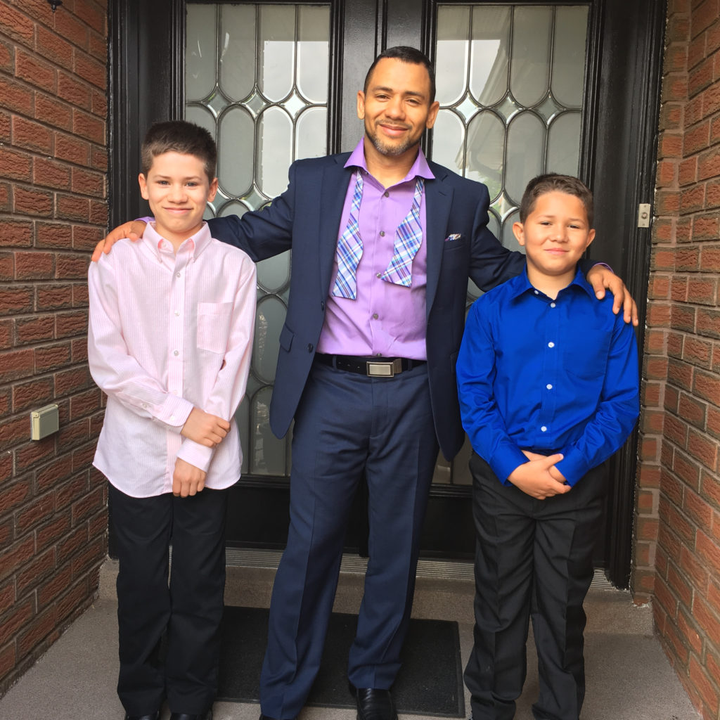 young boys Jamal Abdullah Adeeb Pender eid ramadan celebrate