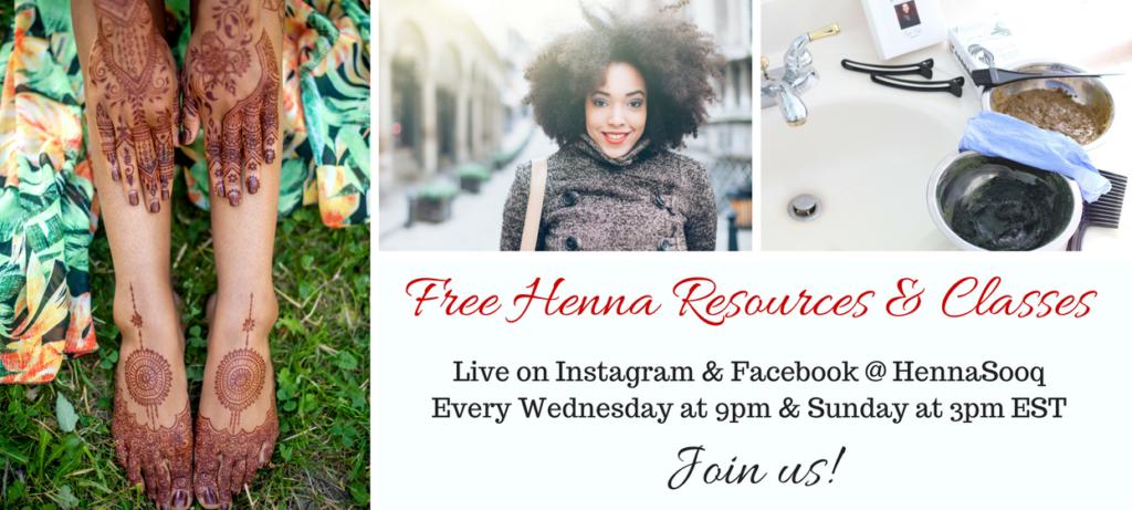 Live & Free Henna Classes