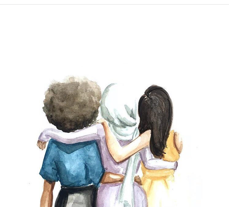 Thank you for being my sister. I am a Muslim woman.