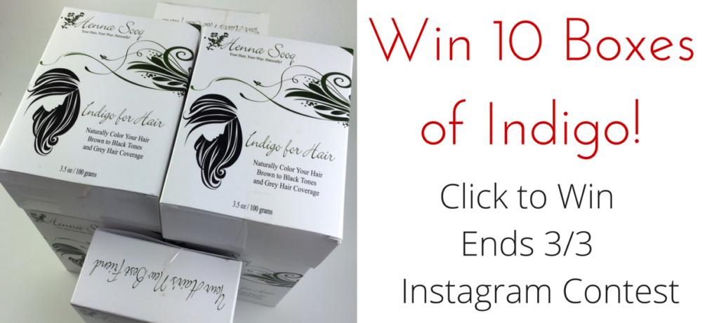 Win 10 Boxes of Indigo for Hair