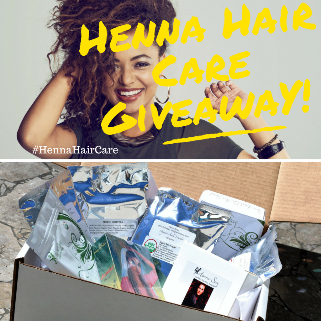henna hair care giveaway