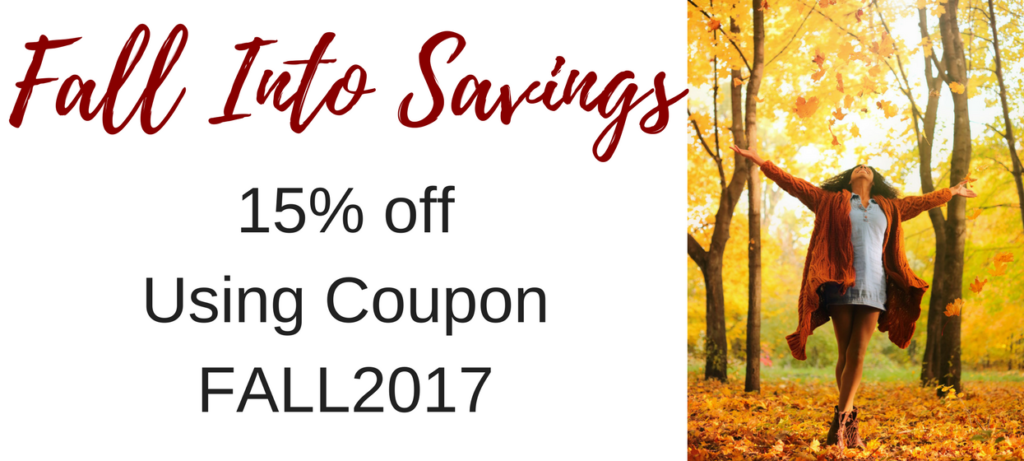 Fall Into Savings with 15% off
