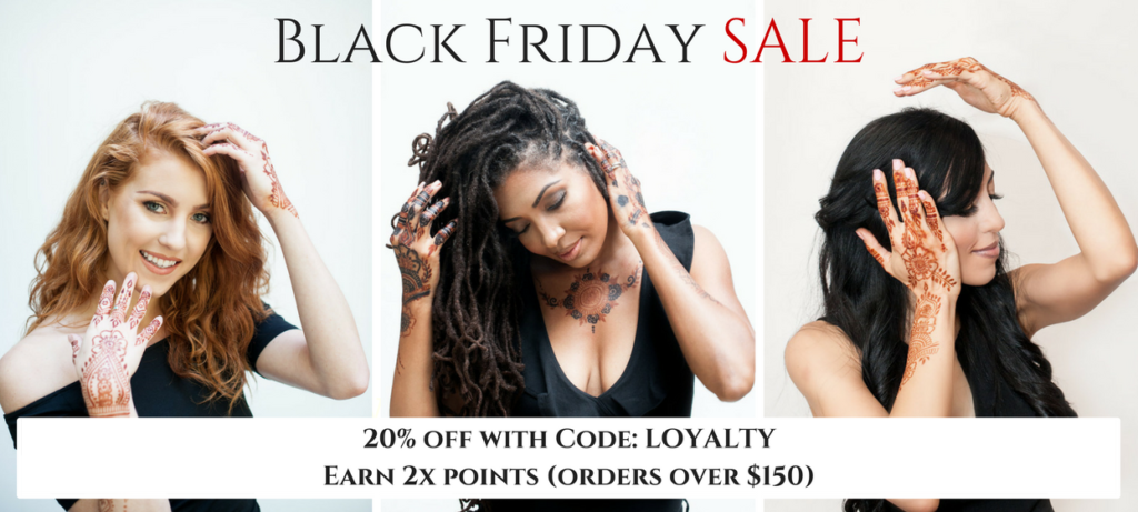 Save 20% for Black Friday Sale