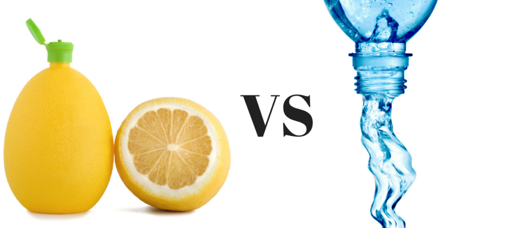 Lemon Juice VS Water