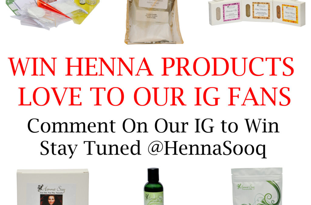 Love To Our IG Fans Exclusive Product Giveaways