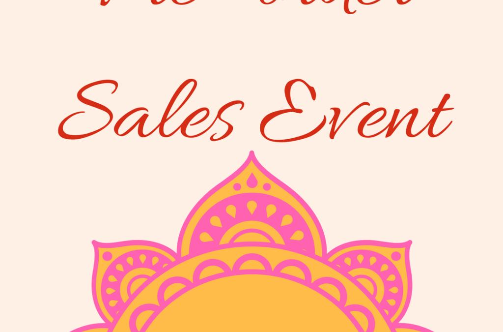 Pre-order Sales Event