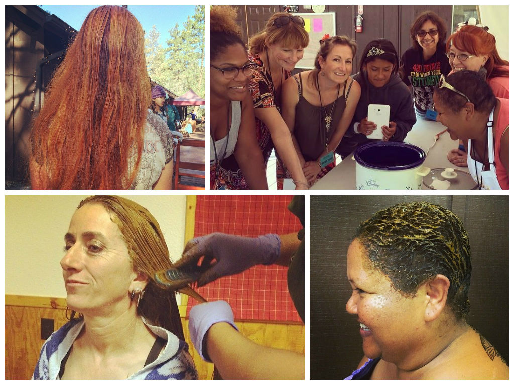 Henna for Hair Class & Coloring Application with Khadija | Henna ...