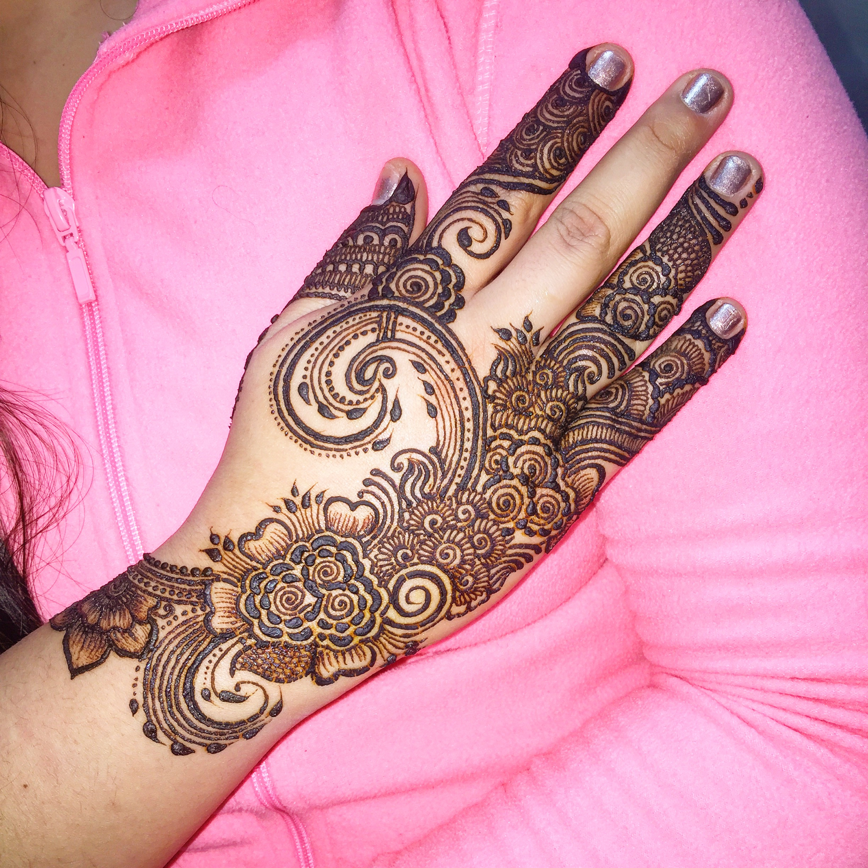 53 Gambar Nail Henna Simple Paling Hist